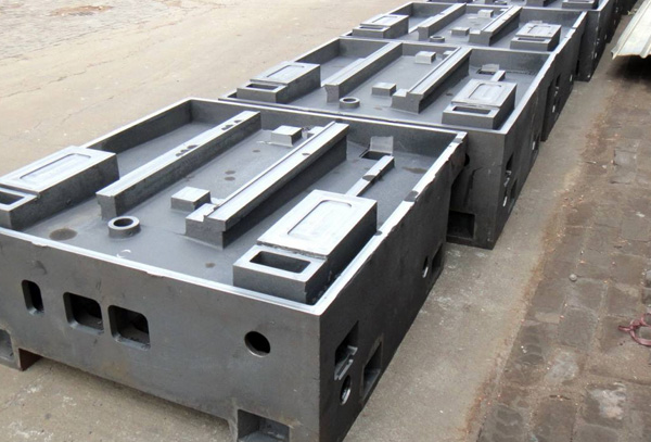 Machine tool castings
